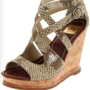 DV dolce vita wedge sandal